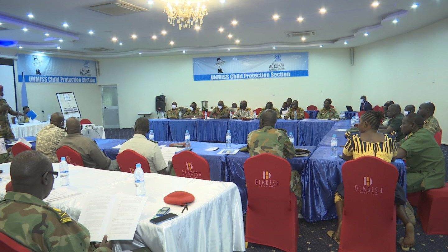 SOUTH SUDAN  CHILD PROTECTION WORKSHOP