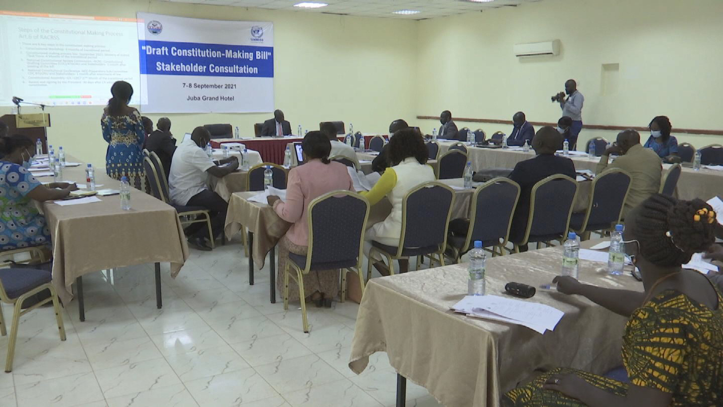 SOUTH SUDAN  CONSTITUTION MAKING PROCESS