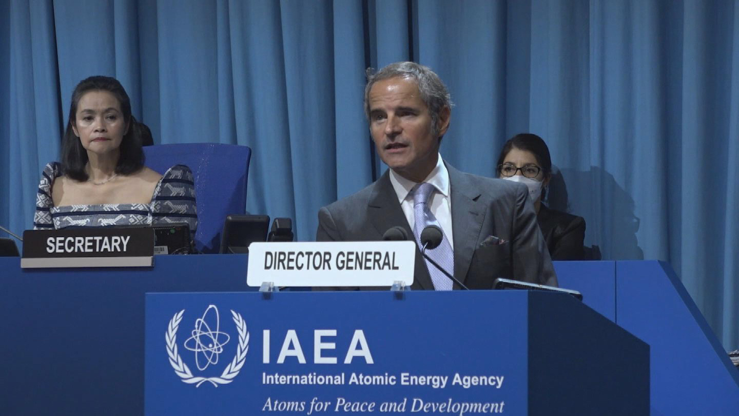 IAEA  GROSSI GENERAL CONFERENCE