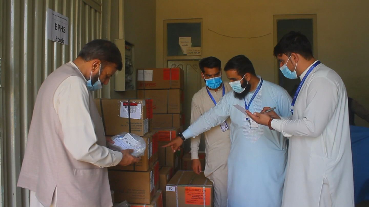 WHO  AFGHANISTAN MEDICAL SUPPLIES