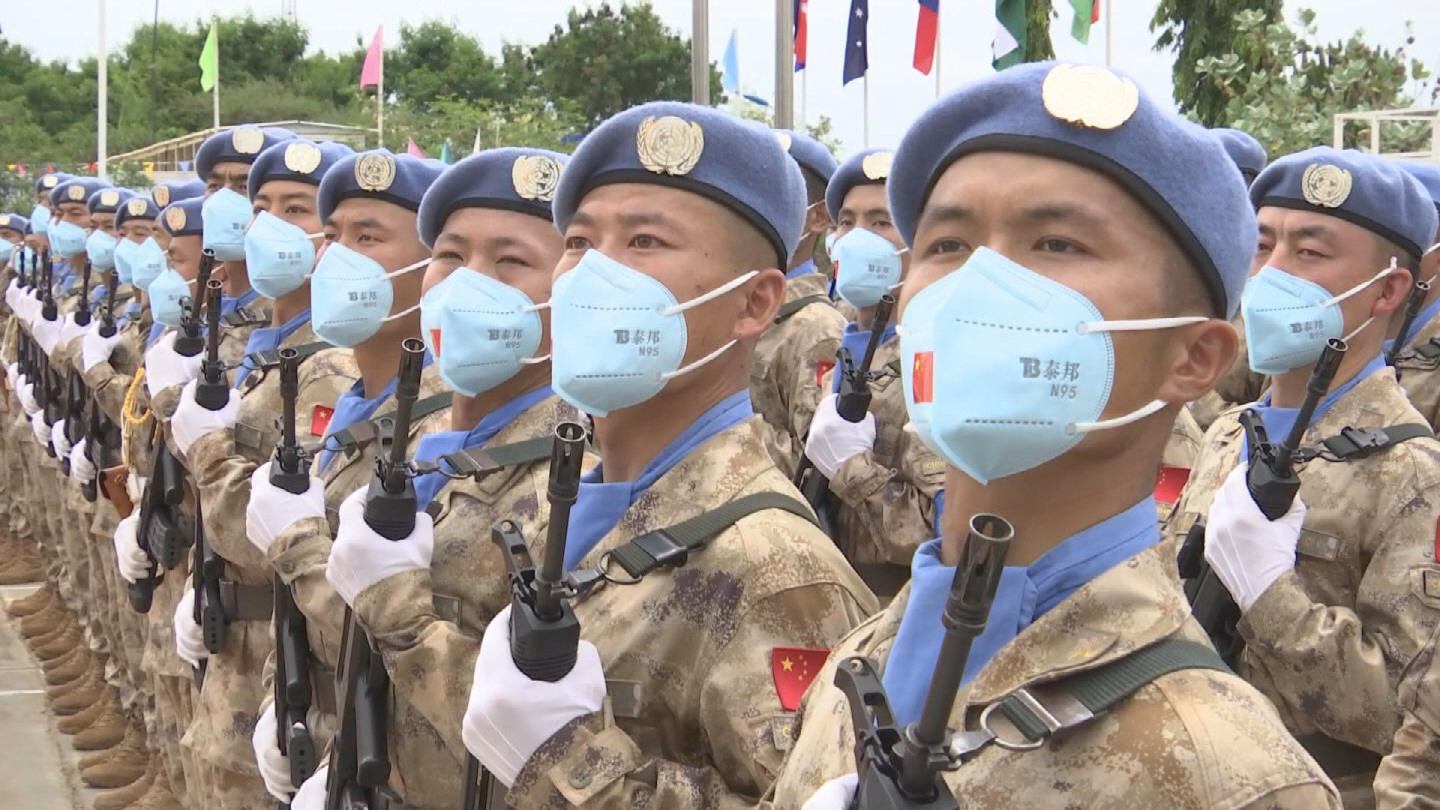 SOUTH SUDAN  CHINESE PEACEKEEPERS