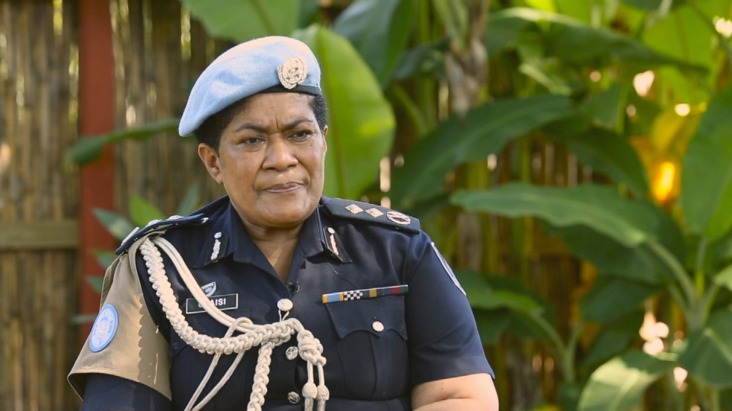 SOUTH SUDAN  OUTGOING POLICE COMMISSIONER