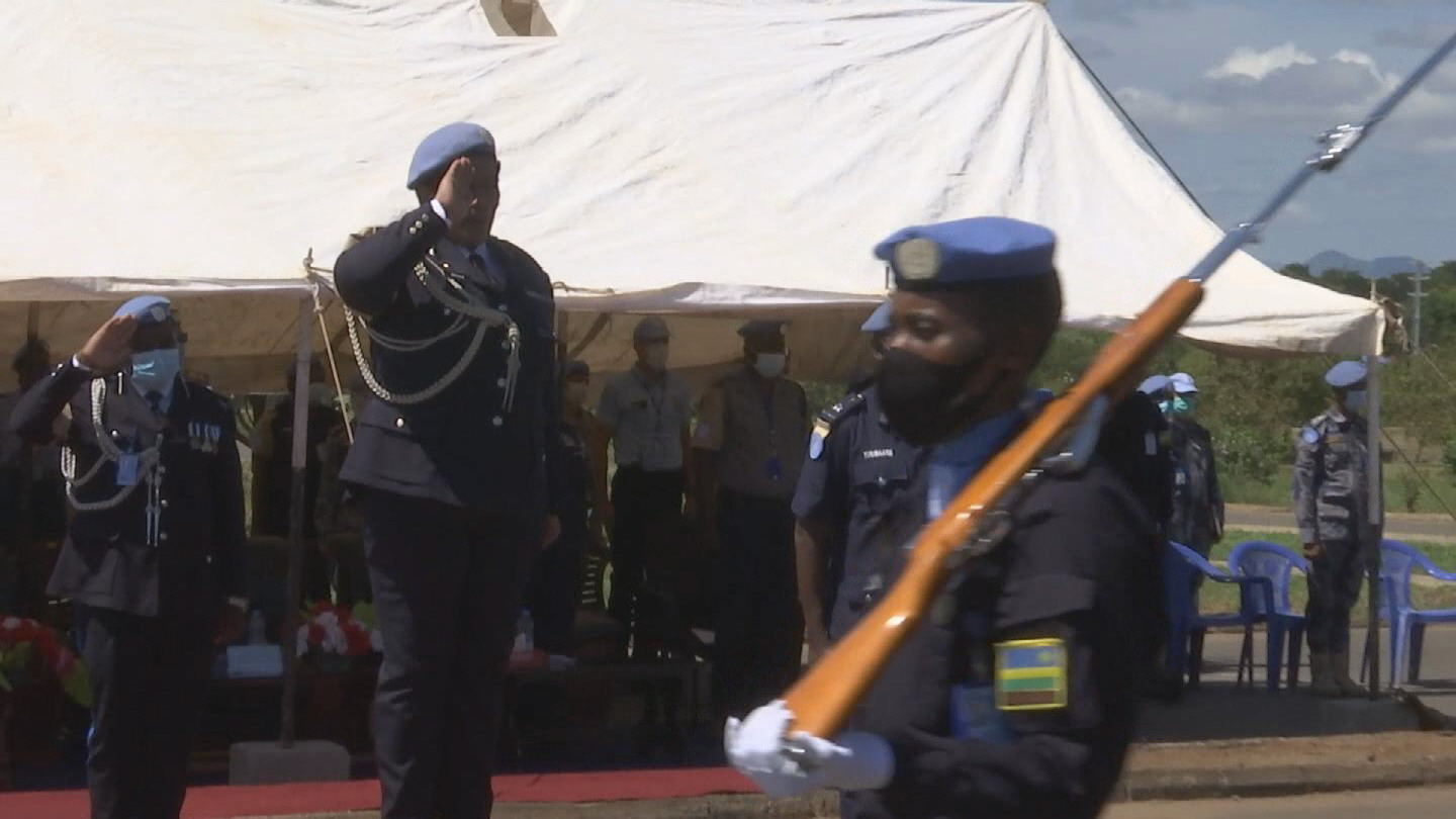 SOUTH SUDAN  UNMISS POLICE COMMISSIONER FAREWELL