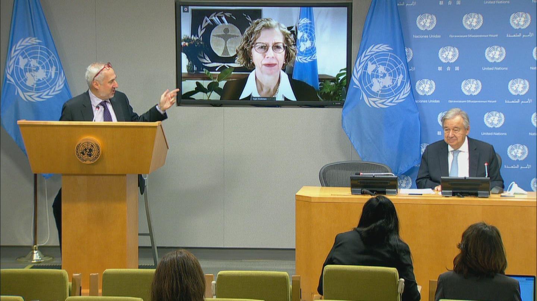 UN / GUTERRES EMISSIONS GAP REPORT