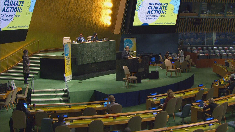 UN / DELIVERING CLIMATE ACTION