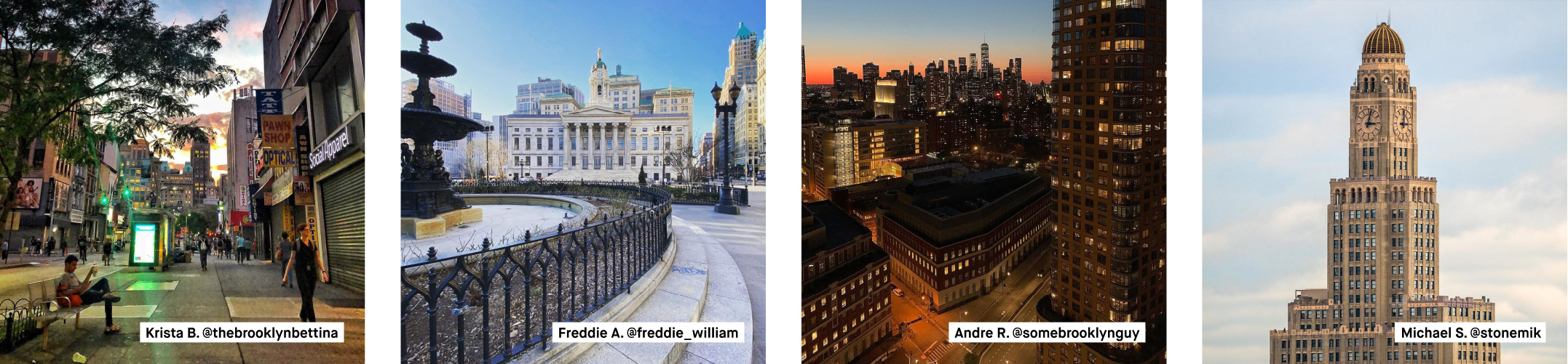 Downtown Brooklyn's outdoor photo gallery