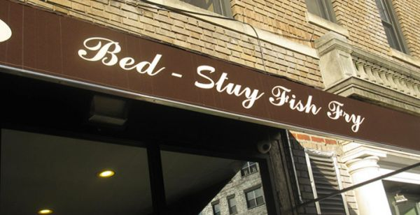 Eating drinking downtown brooklyn for Bed stuy fish fry menu