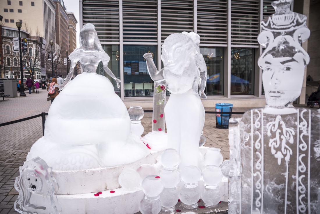 Ice sculptures from Valent-ICE 2018
