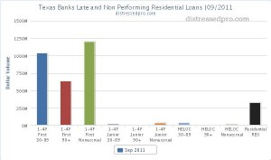 Texas reo and non performing residential loans