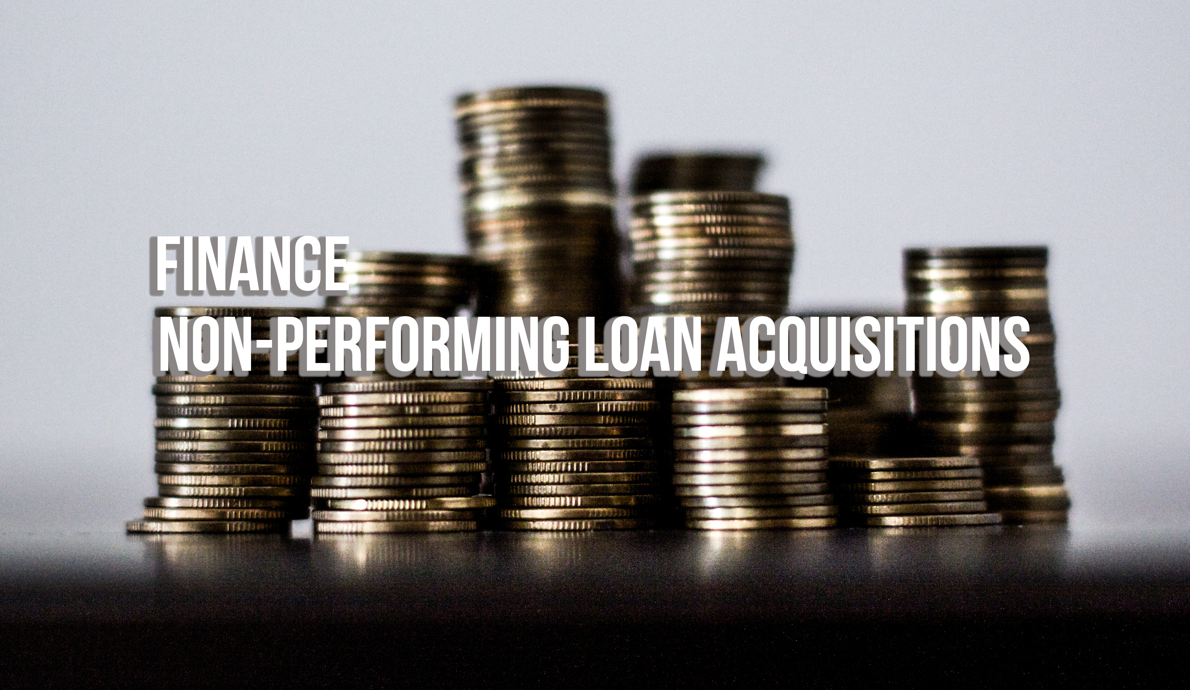 How To Finance Non-performing Loan Financing