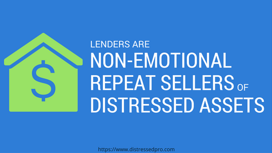 lenders sell notes and REO