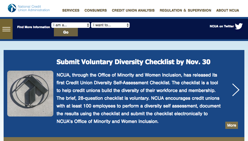 NCUA website