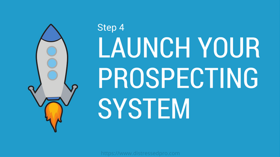 launch your prospecting system