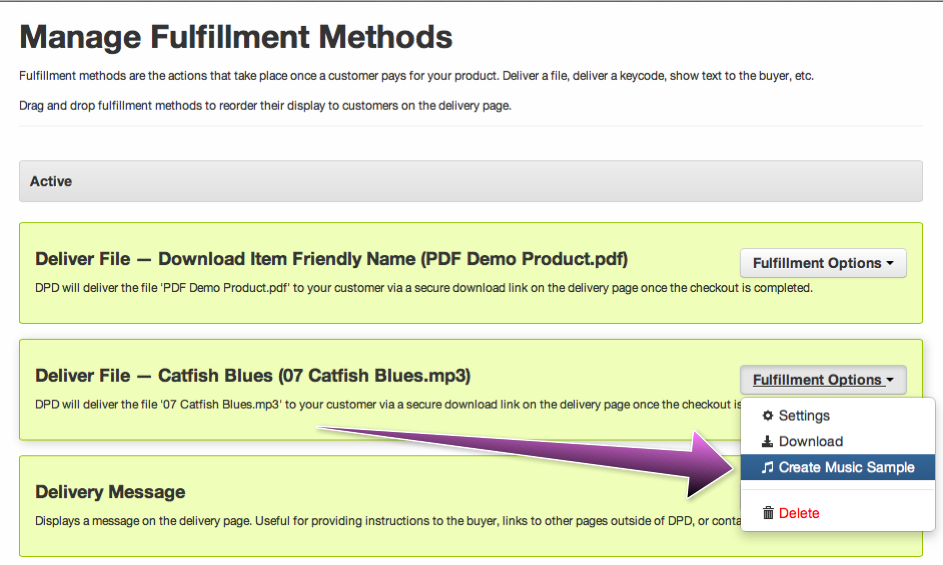 Creating MP3 Samples – DPD Help Desk