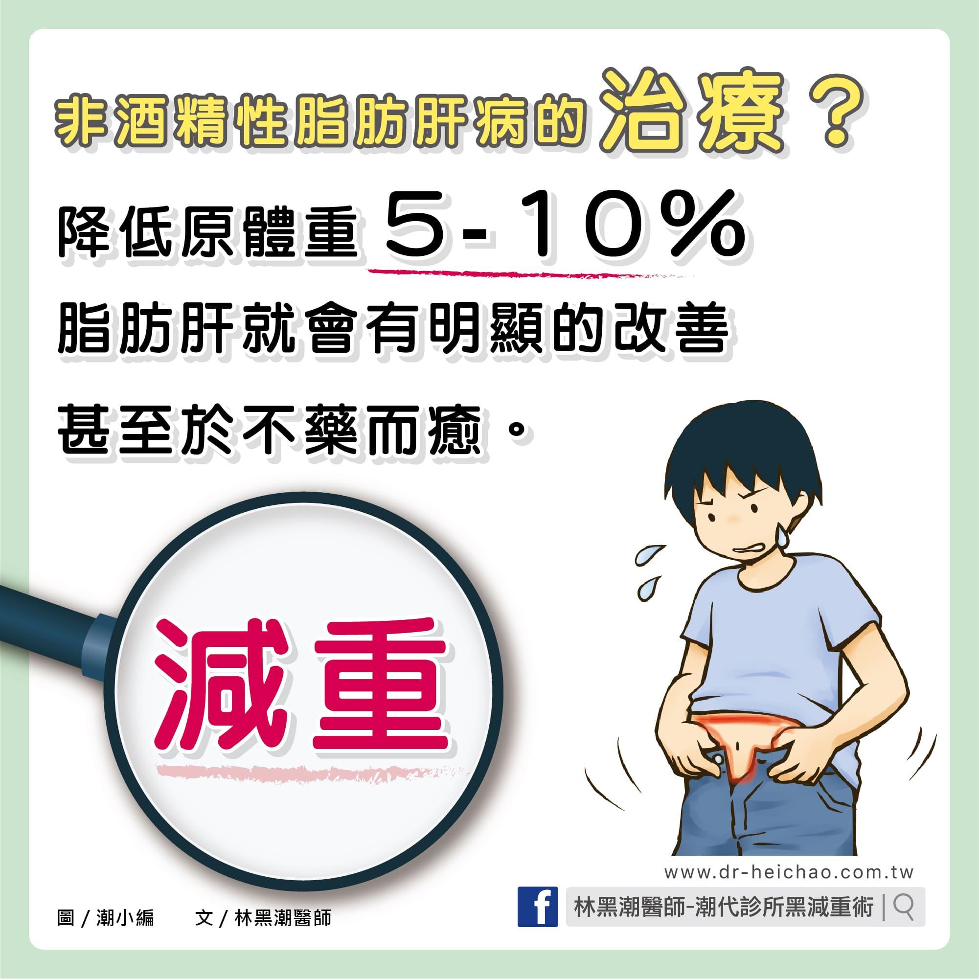 做對什麼?脂肪肝就可以改善,甚至不藥而癒/文:林黑潮醫師