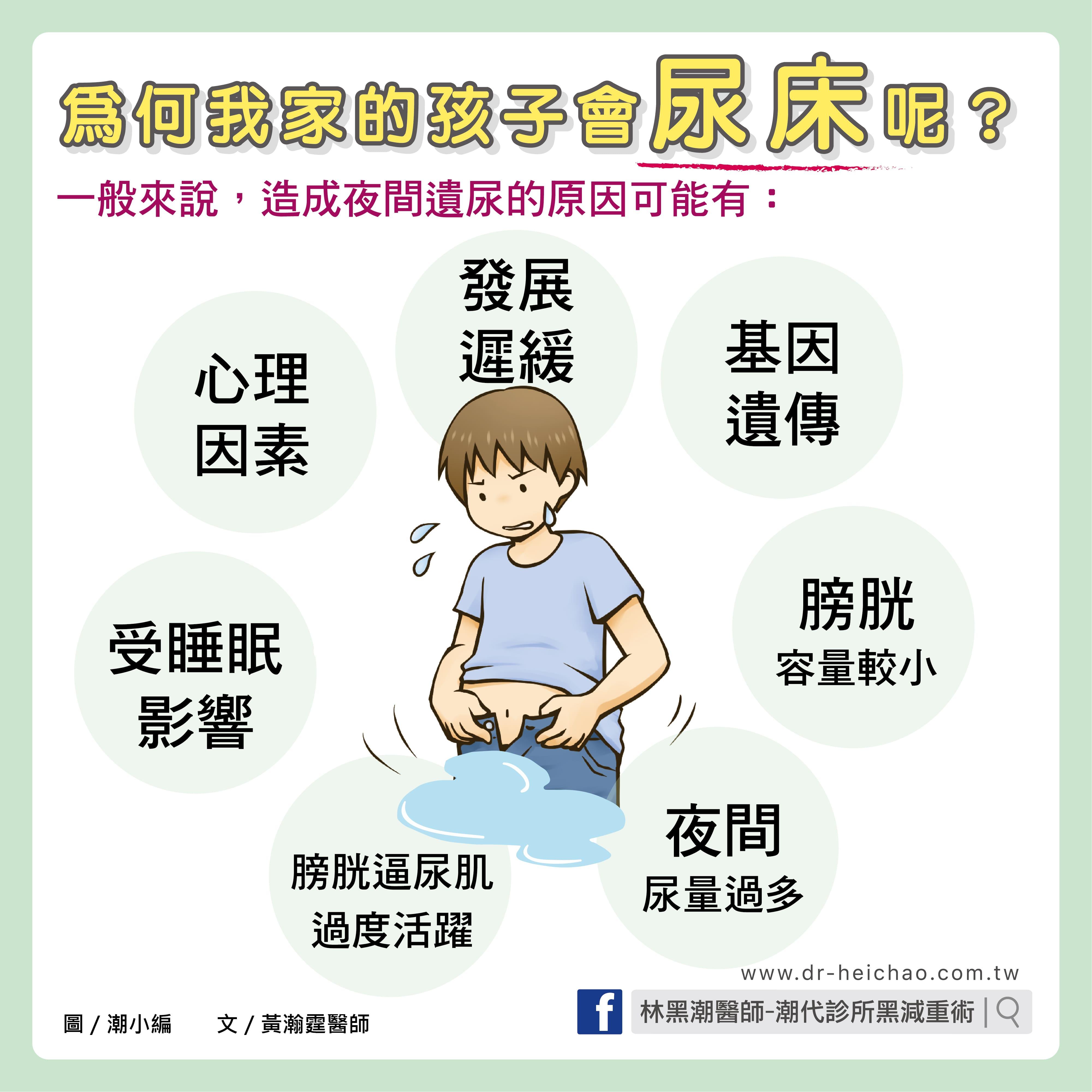 尿床/文:黃瀚霆醫師