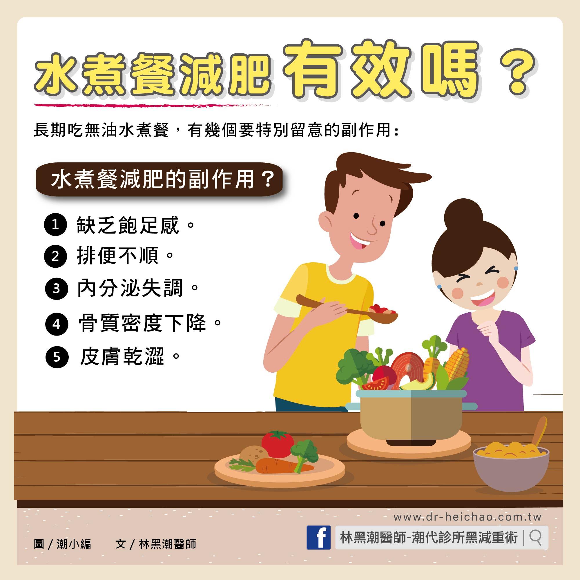 水煮餐減肥有效嗎?