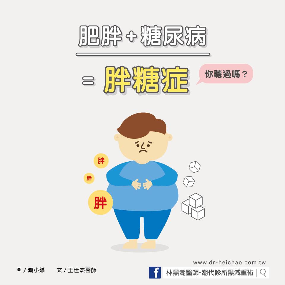 你知道什麼是「糖胖症」嗎?/文:王世杰醫師