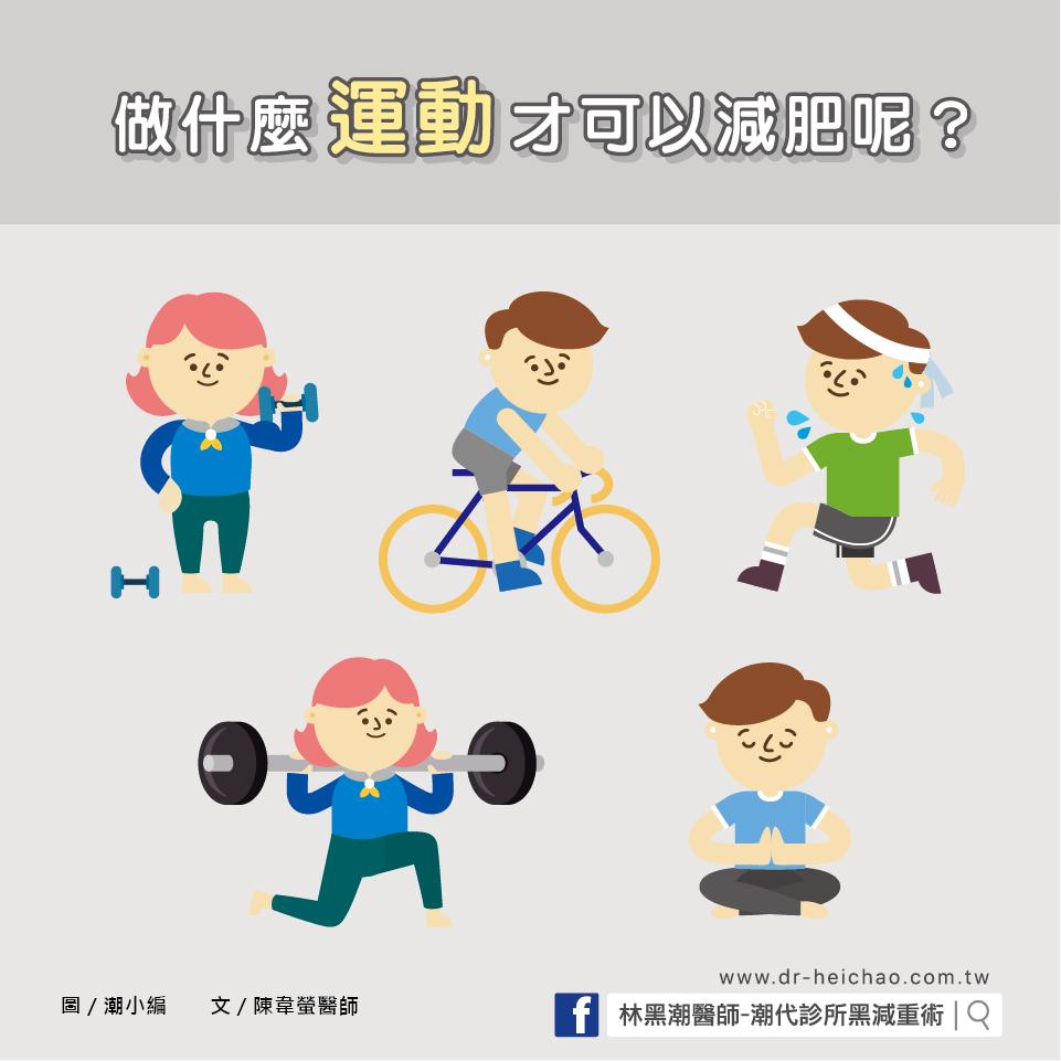 做什麼運動才可以減肥呢?/文:陳韋螢醫師