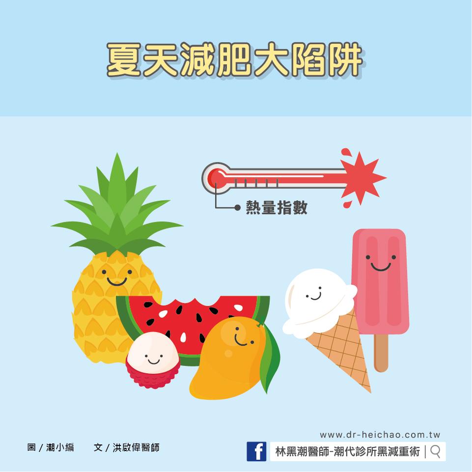 夏天減肥大陷阱/文:洪啟偉醫師