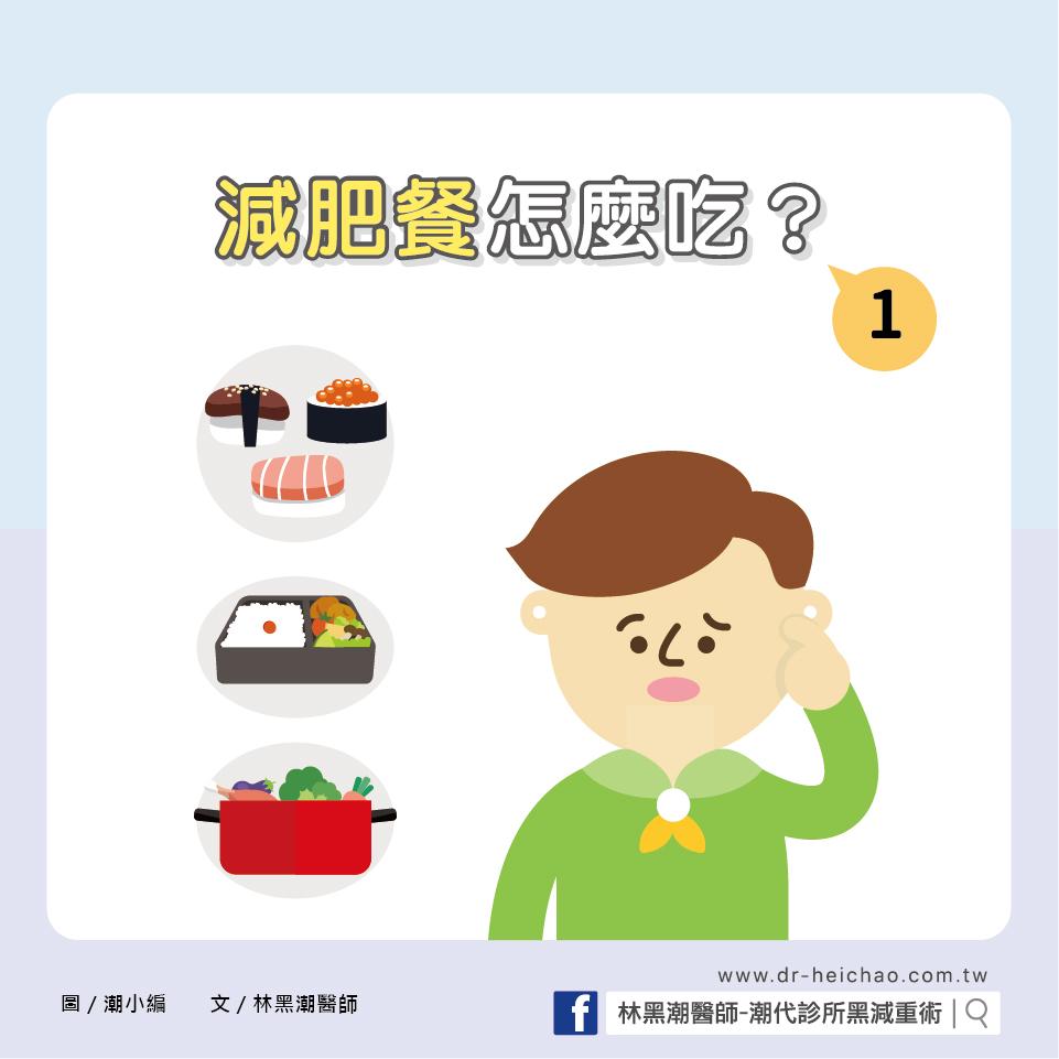 減肥餐,怎麼吃?(一)/文:林黑潮醫師
