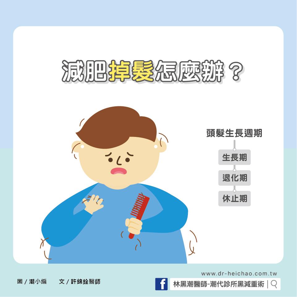 減肥掉髮怎麼辦?/文:許錦銓醫師