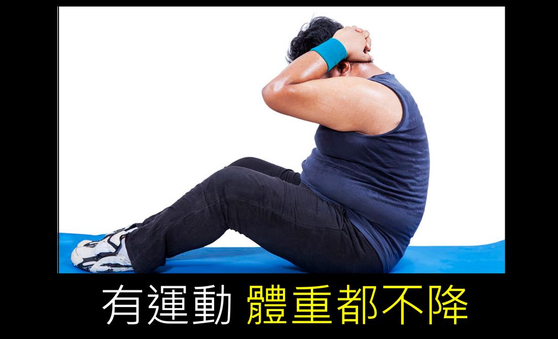 有運動體重都不降