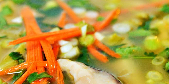 Spicy Thai Lemongrass Soup Recipe