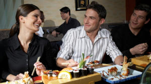 Happy Woman With Confidence Attracting Men
