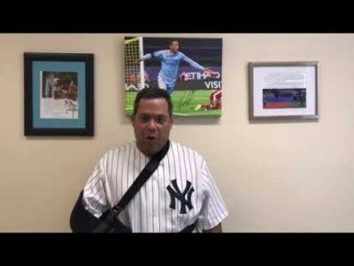 Nestor Diaz – Rotator Cuff Repair Patient