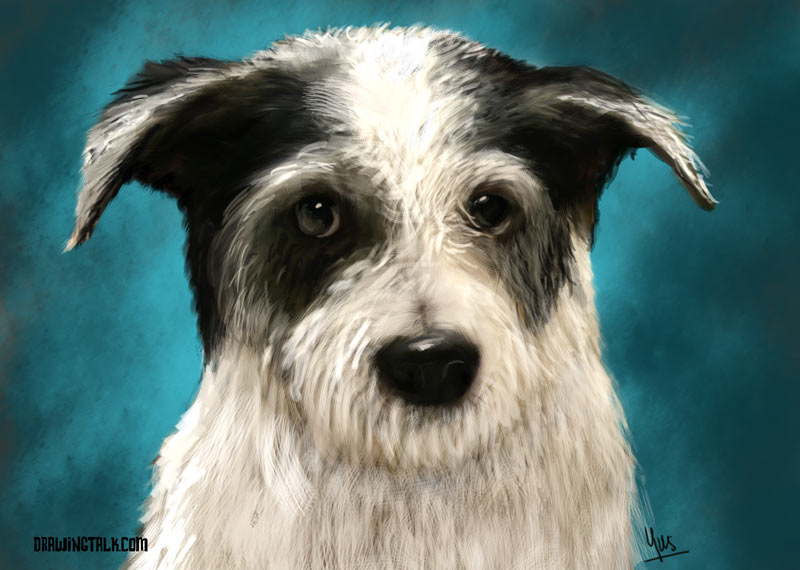 Painting Tutorial - How to paint a dog