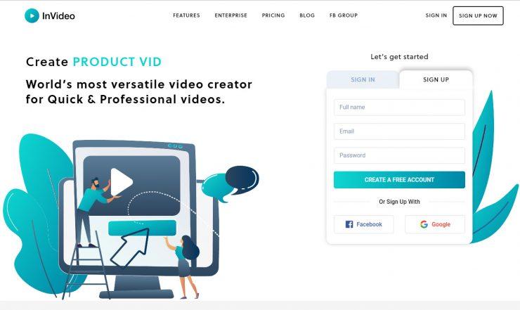 social videos creator