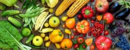 FruitsAndVegetablesOnWoodenSlatBackground.w830.web.jpg