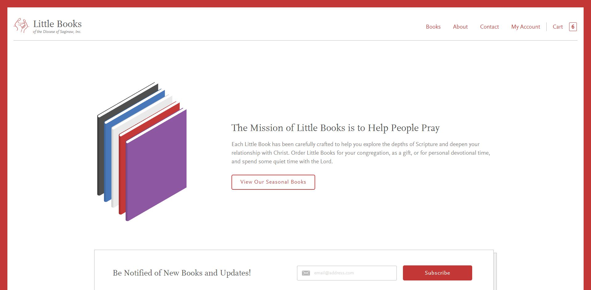 LittleBooks.org - WordPress & Craft Commerce Development
