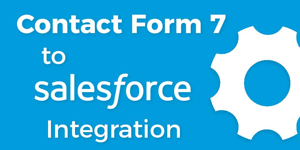 WordPress Contact Form 7 Salesforce Integration