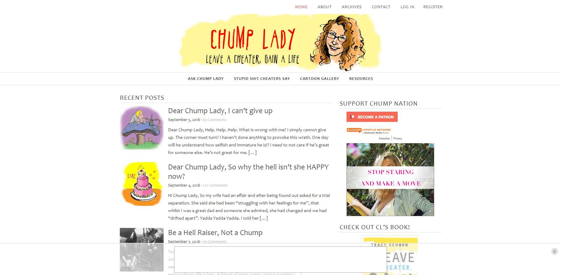ChumpLady.com - WordPress/bbPress