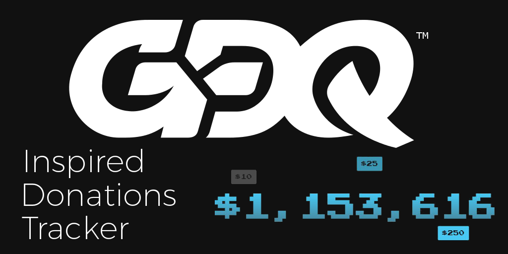 SGDQ 2019 Donation Tracker Re-Creation