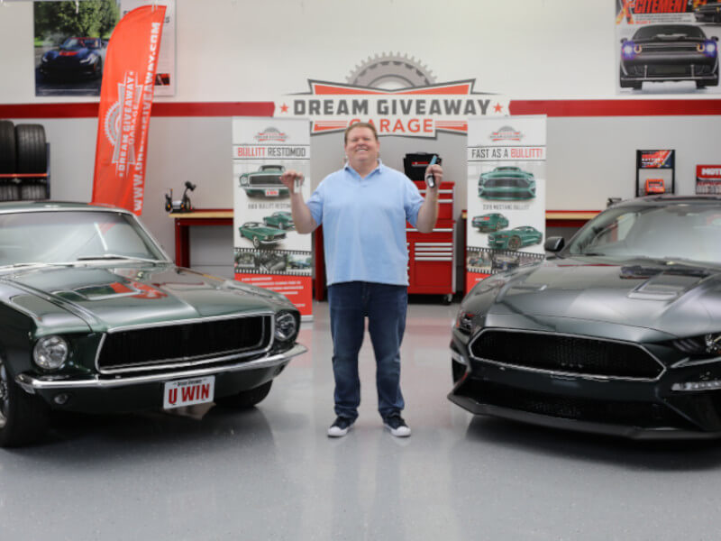 Dream Giveaway Garage