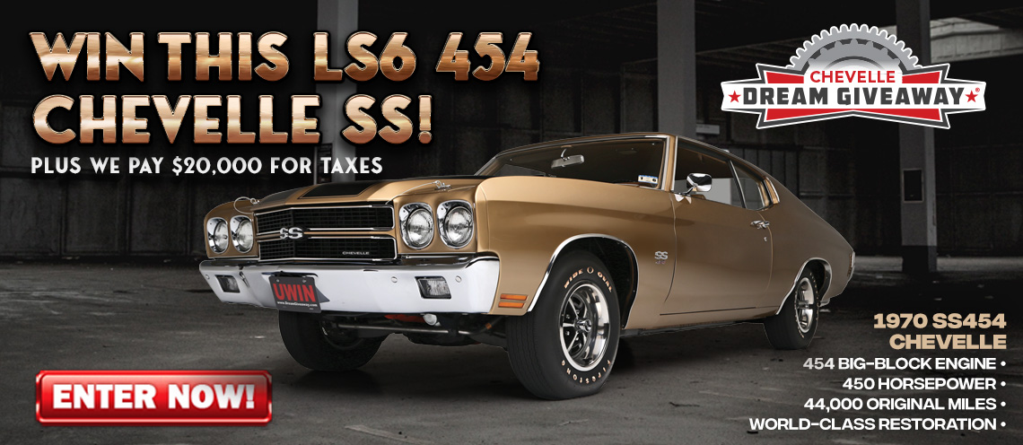 New Chevelle Ss >> Chevelle Dream Giveaway