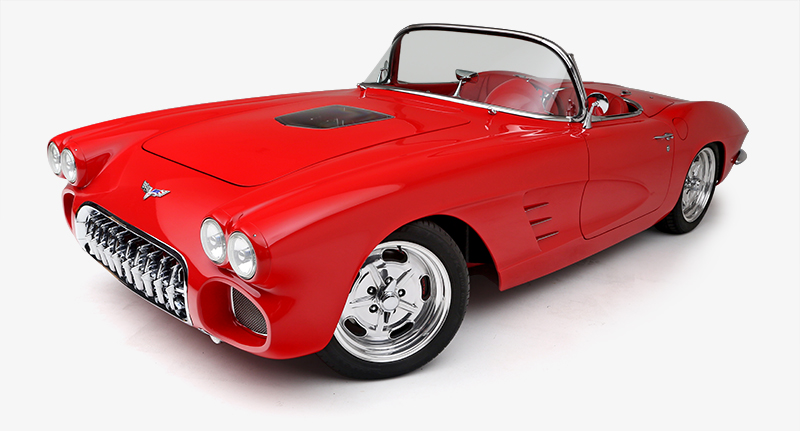 Fully Restored 1962 Corvette Convertible