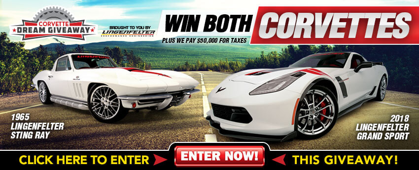 Dream garage car and driver sweepstakes