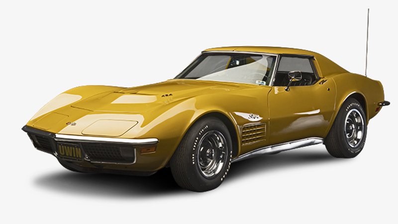 Learn More About this 1971 Corvette LS6