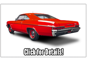 Museum Quality 1966 Impala Sport Coupe 427ci/4-Speed Factory Drag Racer