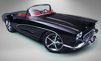 Fully Restored 1961 Corvette Convertible
