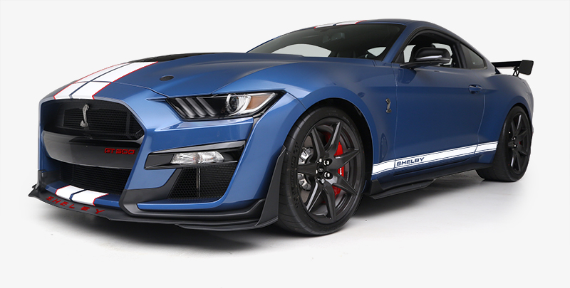 Win a 2020 Ford Mustang GT500 - 1 of 5,000 Produced