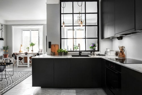 L-Shape-Scandiavian-Kitchen
