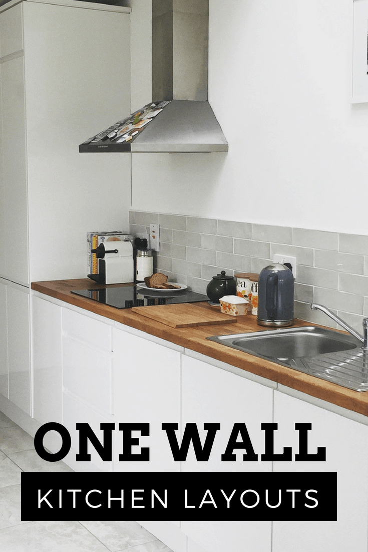 One Wall Kitchen Dream House Ideas