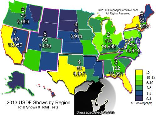 Regionspopulationmapjpg - Us map of regions