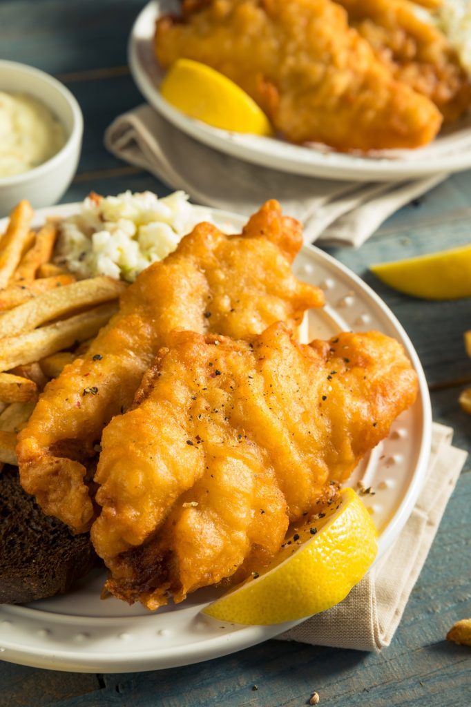 Homemade Beer Battered Fish Fry