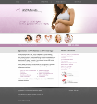 OBGYN Website Thumbnail #1